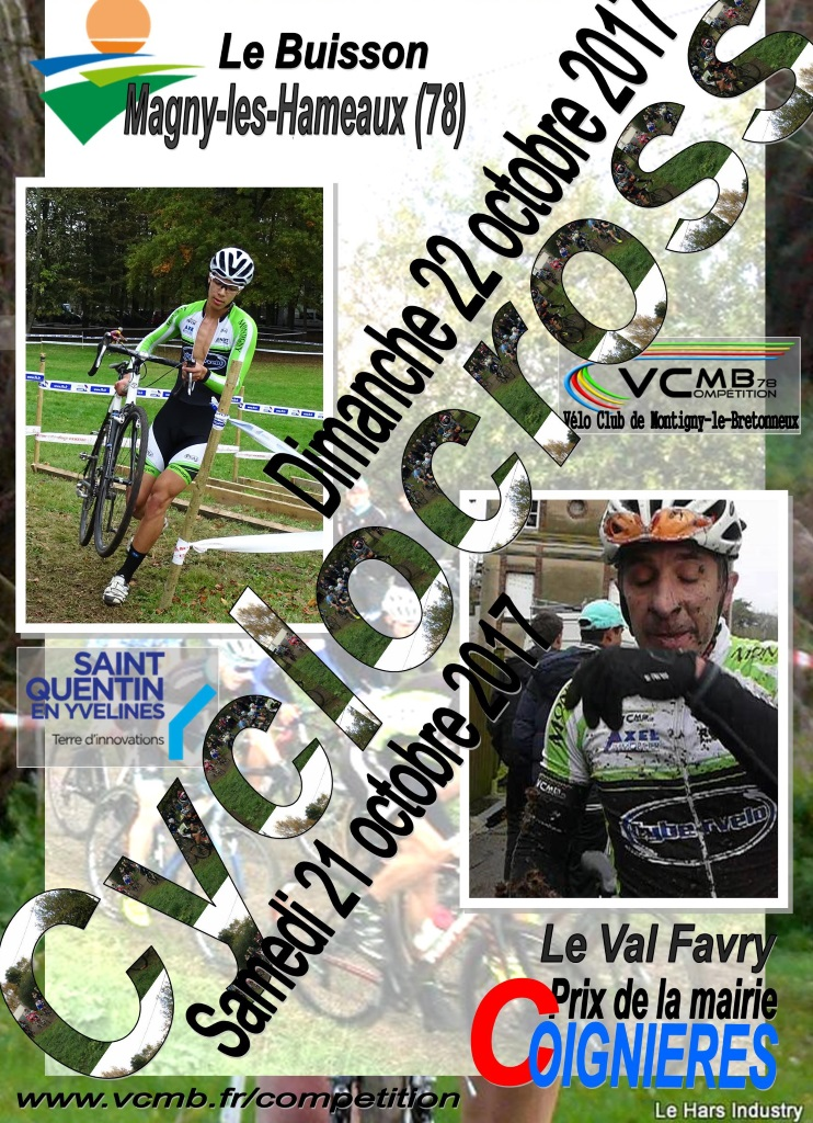 vcmb magny coignieres affiche 2017