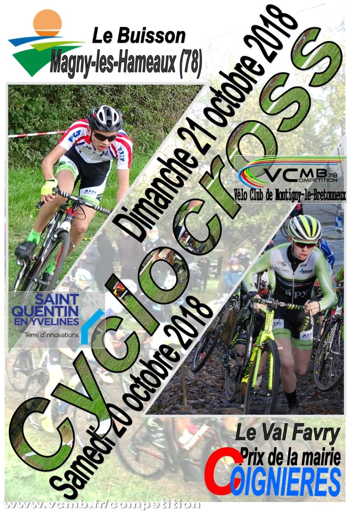 vcmb magny coignieres affiche 2018