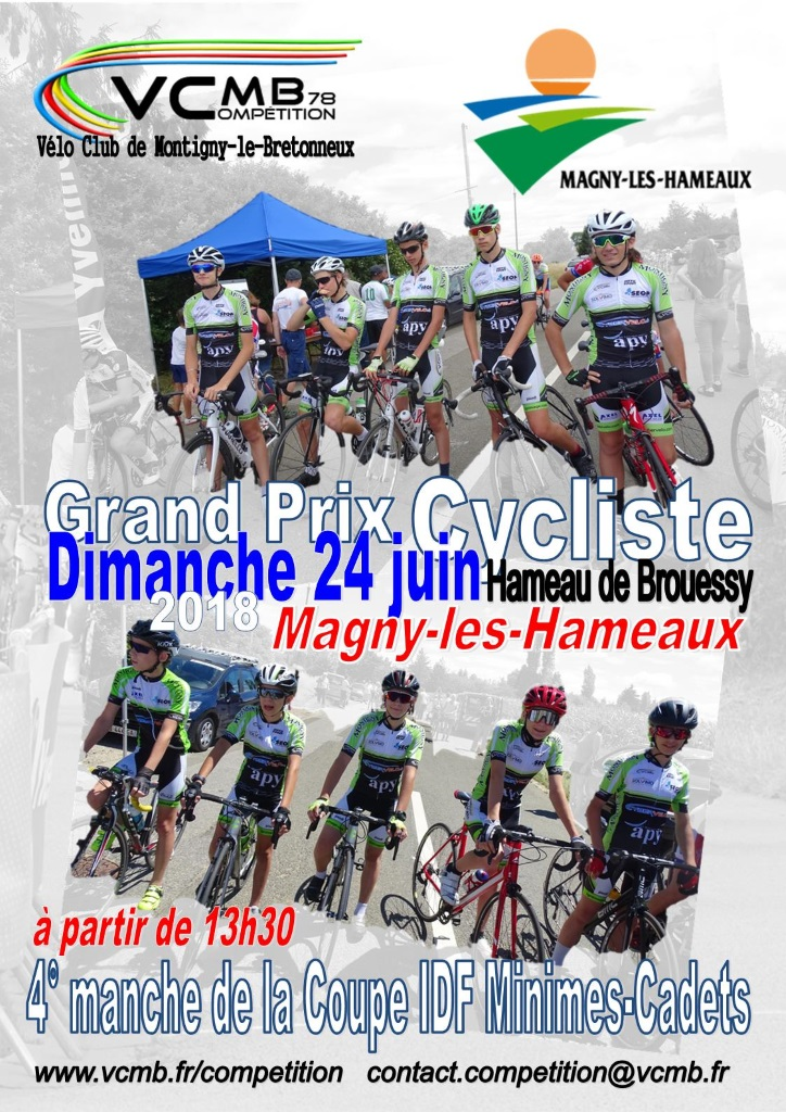 vcmb course magny affiche 2018