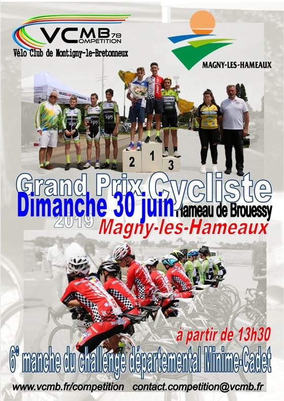 vcmb course magny affiche 2019