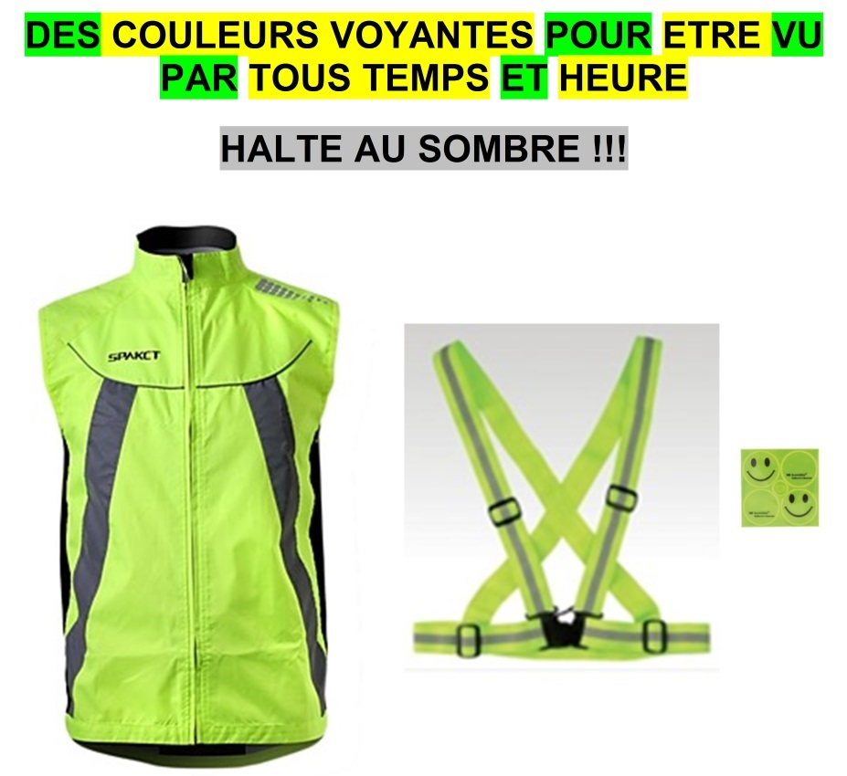 gilets fluo